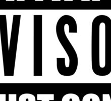 PATRIARCHY ADVISORY Sticker