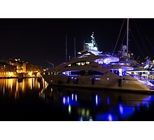 Reflecting on Malta - Grand Harbour Marina Photographic Print