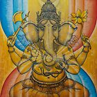 Ganesha by Vrindavan Das