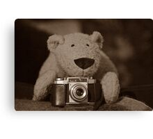 TC is a photographer too Canvas Print