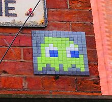 Invader In Manchester  by leedgreen