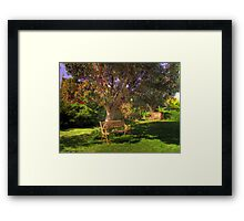 The Yard Framed Print