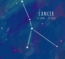Cosmic Starsign Astrology Constellation - Cancer Sticker