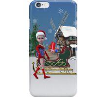 Santa's Helper iPhone Case/Skin