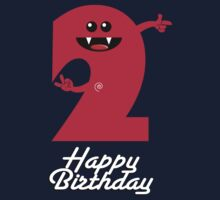 HAPPY BIRTHDAY 2 Kids Tee