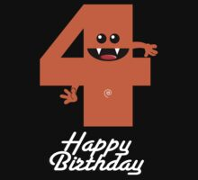 HAPPY BIRTHDAY 4 Kids Clothes