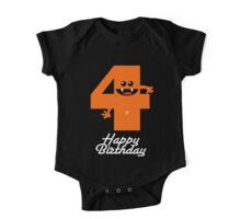 HAPPY BIRTHDAY 4 One Piece - Short Sleeve