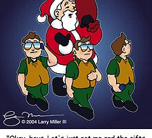Santa's Secret Service by Larry Miller III