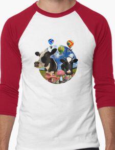 Magic mushroom part 2 Men's Baseball ¾ T-Shirt