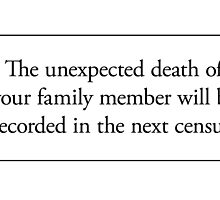 Cards for Engineers - Family death by Tim Norton