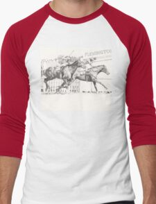 Melbourne Cup Men's Baseball ¾ T-Shirt