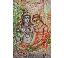 Shiva and Parvati Photographic Print