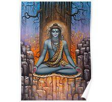Shiva meditation Poster