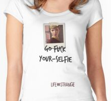LiS - Go fuck your-selfie Women's Fitted Scoop T-Shirt
