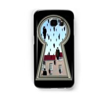 """""""Magritte from the lock"""" Samsung Galaxy Case/Skin"""
