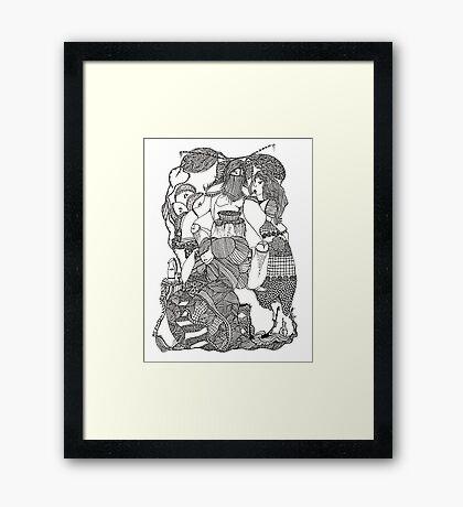The Empress & Her Tasters Framed Print
