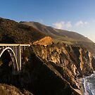 Bixby Creek Bridge by Will Hore-Lacy