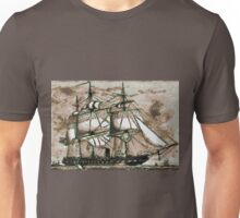 The Original Merrymac, when still  belonging to the United States Navy Unisex T-Shirt