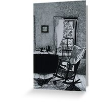 The Picture on the Wall Greeting Card