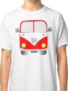 Chunky Red Camper Van Tee shirt Classic T-Shirt