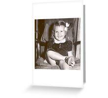 Sheila Flies Again Greeting Card