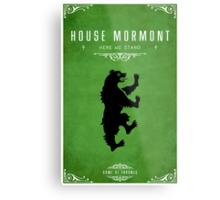 House Mormont Metal Print