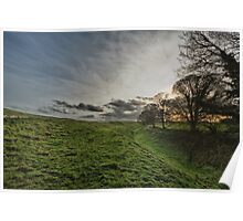 Afternoon in Avebury Poster
