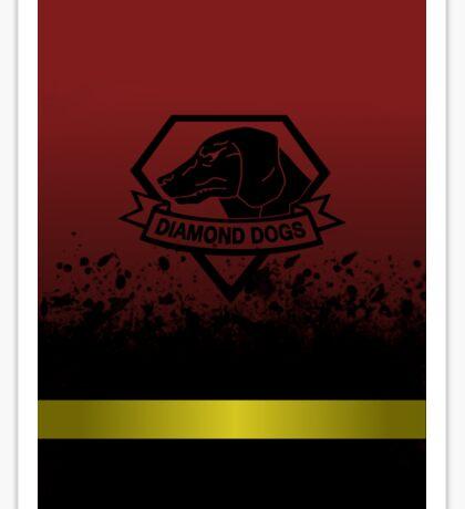 Phantom Pain - Diamond Dogs Sticker