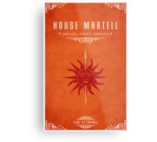 House Martell Metal Print