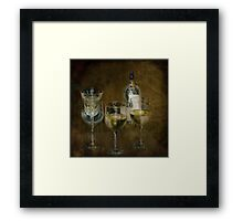 House Wine Framed Print