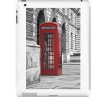 red booth iPad Case/Skin