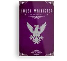House Mallister Metal Print