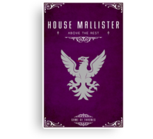 House Mallister Canvas Print