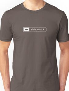 slide to cock Unisex T-Shirt
