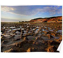 Portsea back beach Poster
