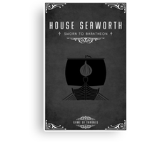 House Seaworth Canvas Print