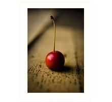 Red Winter Berry Art Print