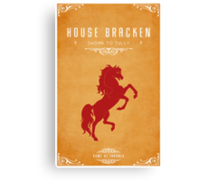 House Bracken Canvas Print