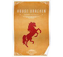 House Bracken Poster