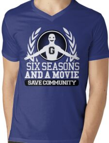 #Six Seasons and a Movie Mens V-Neck T-Shirt