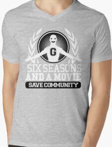 #Six Seasons and a Movie Mens V-Neck T-Shirt