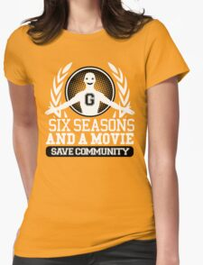 #Six Seasons and a Movie Womens Fitted T-Shirt