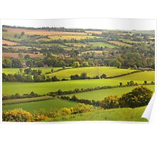 Beautiful Meon Valley, West Sussex Poster