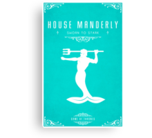 House Manderly Canvas Print