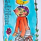 Be Yourself by ART PRINTS ONLINE         by artist SARA  CATENA
