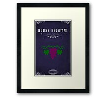 House Redwyne Framed Print
