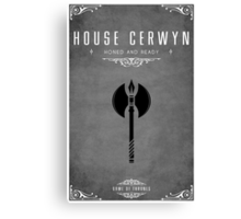 House Cerwyn Canvas Print