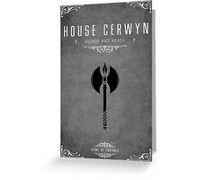 House Cerwyn Greeting Card