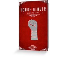 House Glover Greeting Card
