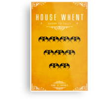 House Whent Metal Print